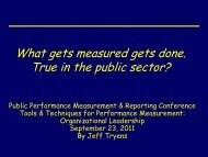 Performance Measure Guidelines Training for State Agencies - ppmrn