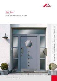 Roto Door DoorSafe DoorBase DoorLine DoorPlus