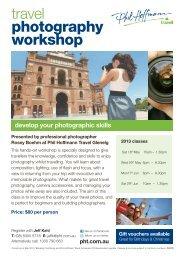 travel photography workshop - Phil Hoffmann Travel