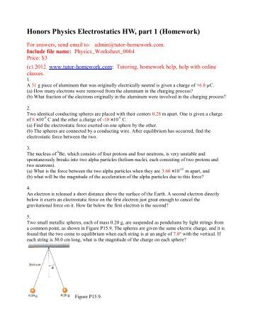 Webassign physics homework answers