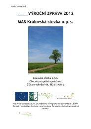Výroční zpráva 2012 - Královská Stezka