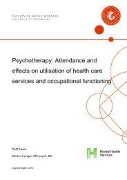 Study 2 - Region Hovedstadens Psykiatri