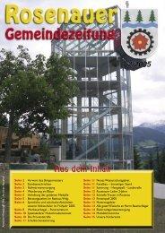 02. Ausgabe 2005 - Rosenau am Hengstpaß