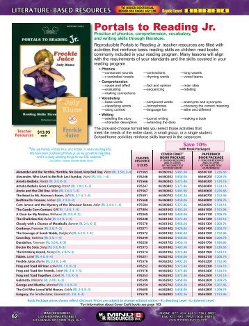 Portals to Reading Jr. - Mind Resources