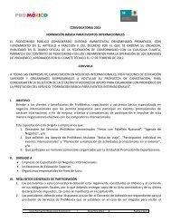 1 The Mexican Aerospace Industry Proméxico
