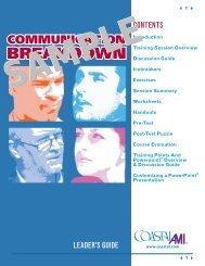 Communication Breakdown Leader's Guide - Enterprise Media