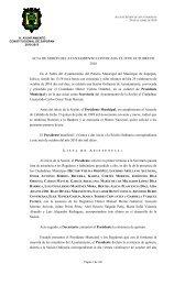 proyecto de acta de sesión del ayuntamiento convocada el 29 de ...