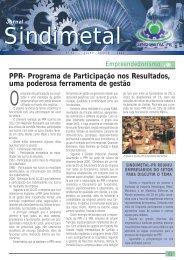 Edição nº 32 - Julho / Agosto - Sindimetal/PR