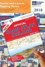 2010 Tourist and Leisure Mapping Series - Ordnance Survey Ireland