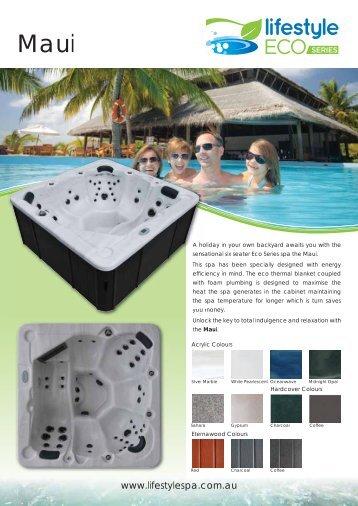 Maui PDF - Lifestyle Spas and Leisure