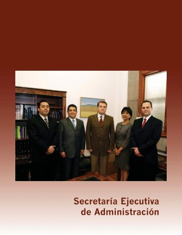 Secretaría Ejecutiva de Administración - Suprema Corte de Justicia ...