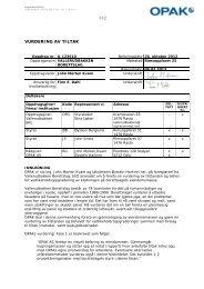 tilstandsrapport - Vallerudbakken Borettslag