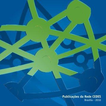 Publicações da Rede CEDES Brasília - 2010 - Ministério do Esporte