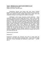 TALAK - Jabatan Kemajuan Islam Malaysia