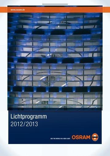 Lichtprogramm 2012/2013