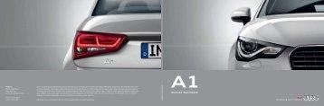 Audi A1 Sportback - Auto Bach GmbH