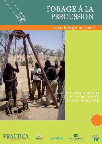 Forage manuel a la percussion PRACTICA - Practica Foundation