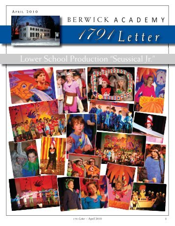 April 2010 1791 Letter - Berwick Academy