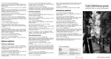 Ceļo Valmieras pusē 2005 (pdf, ~ 0,8 MB)