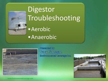 Digestor Troubleshooting