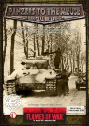 Panzers to the Meuse.... - Flames of War