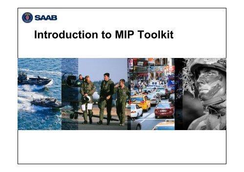 MIP Product Suite Tool Kit Introduction (pdf) - Saab