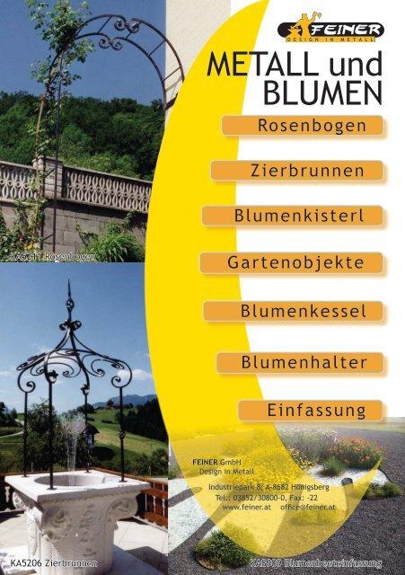 METALL und BLUMEN - Feiner GmbH