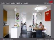 Ein Eco-Haus in London   Will Pryce / Arcaid - laif agentur für photos ...