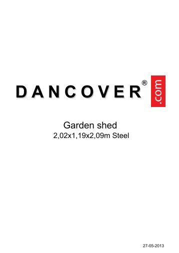 PDF Aufbauanleitung HIER KLICKEN - Dancover shop
