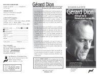 Gérard Dion - Société des professeurs d'histoire du Québec