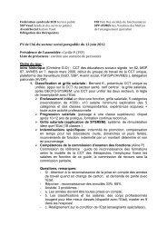 PV AG du secteur parapublic 12 juin 2012 - AVMES