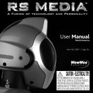 RS Media User Manual - The Old Robot's Web Site