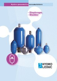 - Diaphragm - Bladder - Total Hydraulics BV