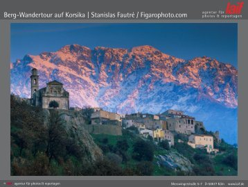Berg-Wandertour auf Korsika | Stanislas Fautré / Figarophoto.com