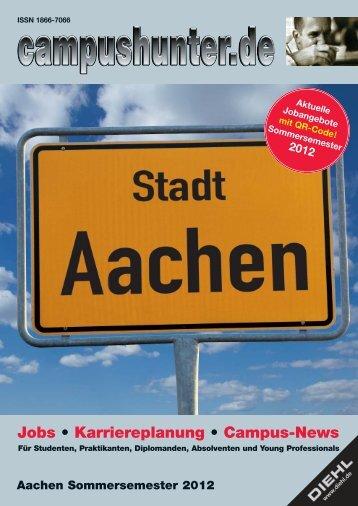 Ausgabe Aachen Sommersemester 2012 - campushunter.de