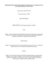 Dernekler özel denetleme grubunun kuruluşu ve çalışma