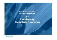 Port Allen Export Elevator - Louisiana Agricultural Consultants ...