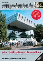 Jobs • Karriereplanung • Campus-News - campushunter.de