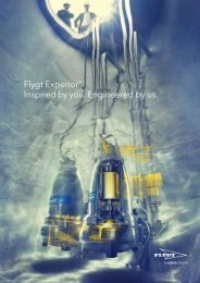 Flygt Experior™ Inspired by you. Engineered by us. - Water Solutions