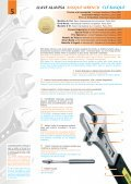 LLAVES AJUSTABLES / ADJUSTABLE WRENCHES ... - Gecom Ltda. - Page 2