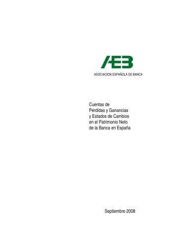 Cuentas de Perdidas y Ganancias Septiembre 2008 - Asociación ...