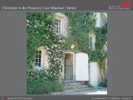 L'Occitane in der Provence   Luc Wauman / Hemis - laif agentur für ...