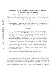 arXiv:astro-ph/0309662 v1 24 Sep 2003 - iucaa