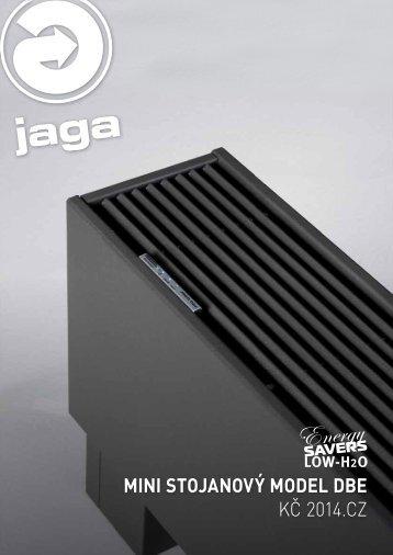 Ceník Mini stojanový DBE pdf - Jaga