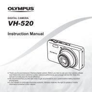 Instruction Manual VH-520 - Olympus