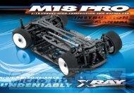 Team XRay M18 Pro Manual - CompetitionX.com