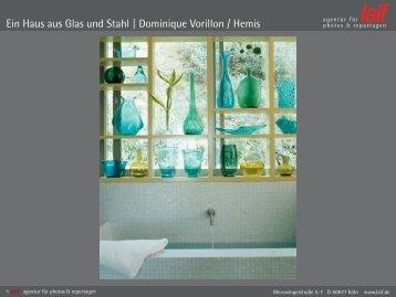 Ein Haus aus Glas und Stahl   Dominique Vorillon / Hemis