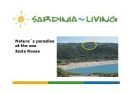Nature´s paradise at the sea Isola Rossa - Sardinia Living
