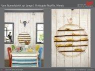 Vom Gummistiefel zur Lampe | Christophe Rouffio / Hemis