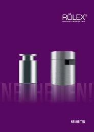 NEUHEITEN - RÖLEX Ventile Produktion GmbH